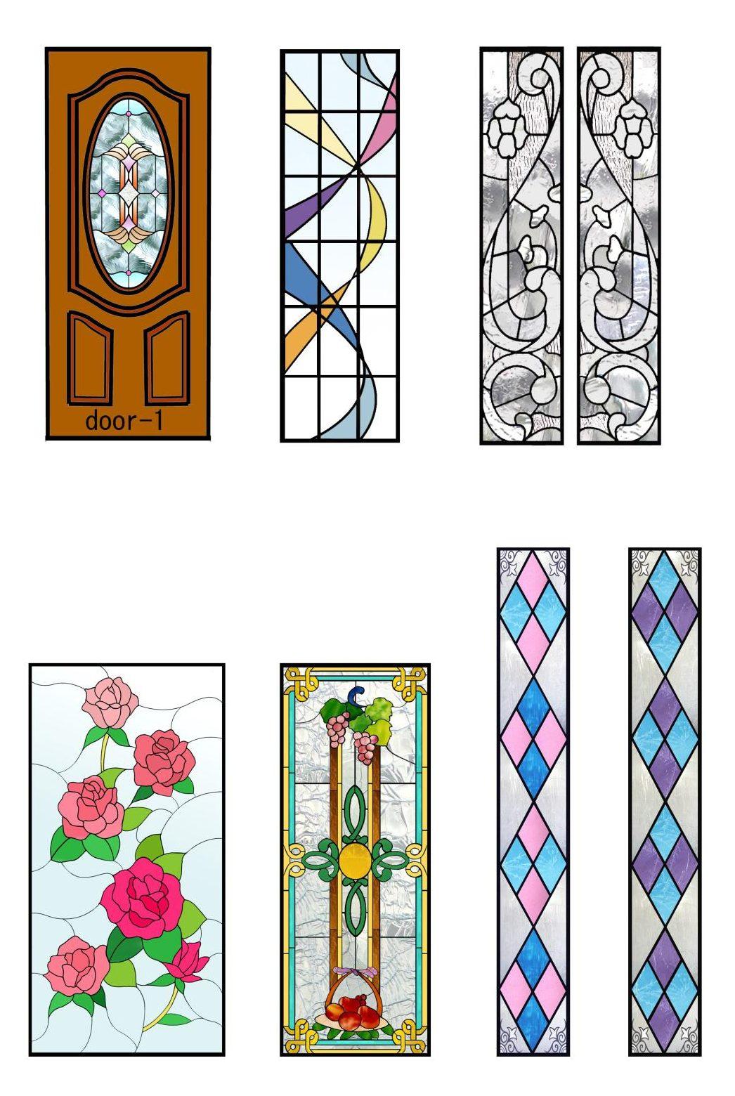 ステンドグラスのデザイン