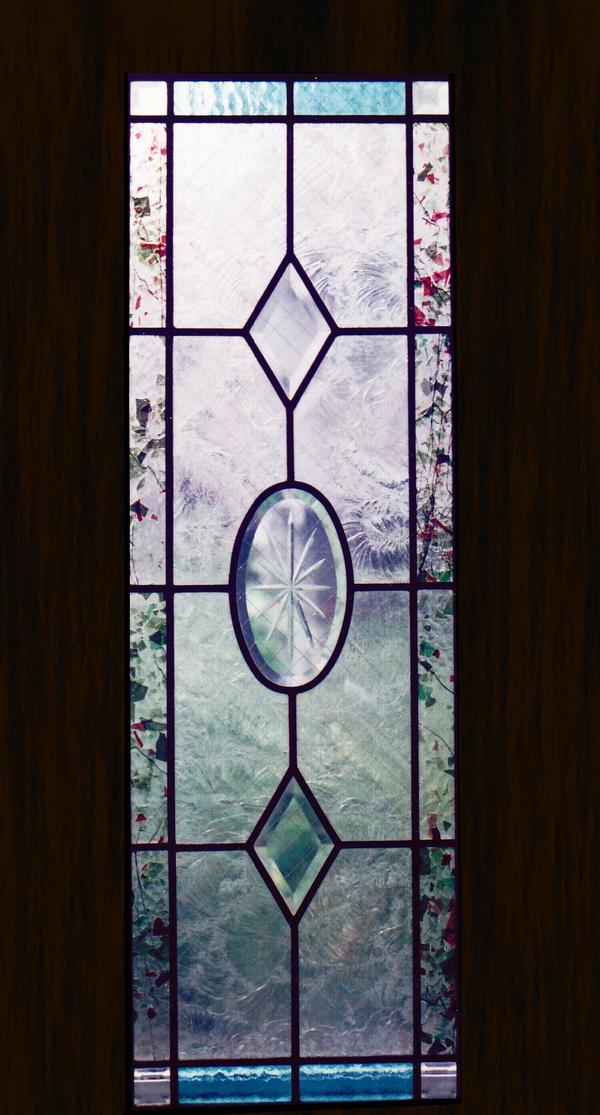 ステンドグラス オーダーメイ べベルのパネルのサムネイル