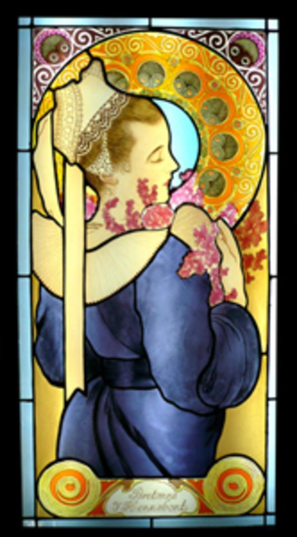ミュッシャ模写 ヒースの花