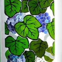 葡萄4面体ステンドグラスランプ ステンドグラス オーダーメイド 新築のサムネイル