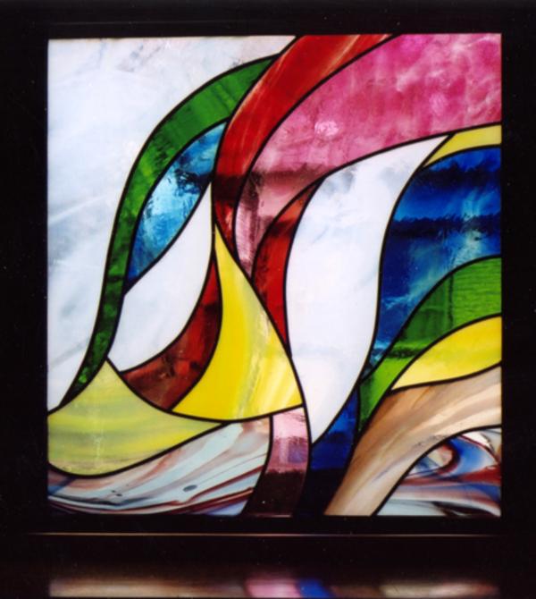 ステンドグラス オーダーメイド 新築 リフォーム 朝の光 のサムネイル
