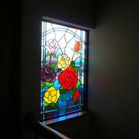 ステンドグラス 注文 オーダーメイド 新築 薔薇のサムネイル