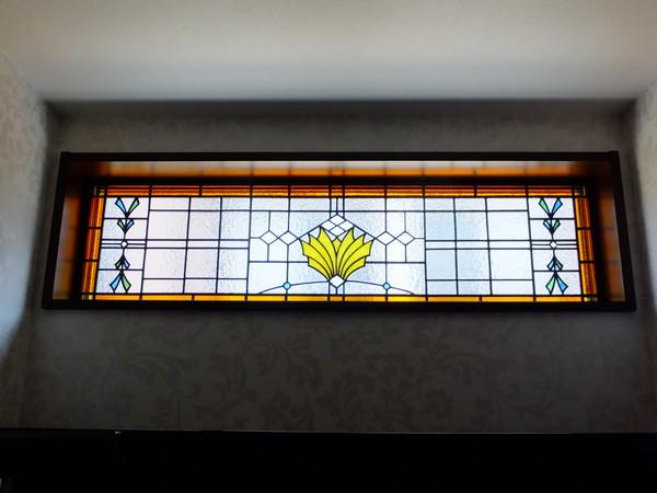 ステンドグラス オーダーメイド 市川市 玄関吹き抜け のサムネイル