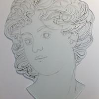 ステンドグラス オーダーメイド ミュッシャの模写のサムネイル