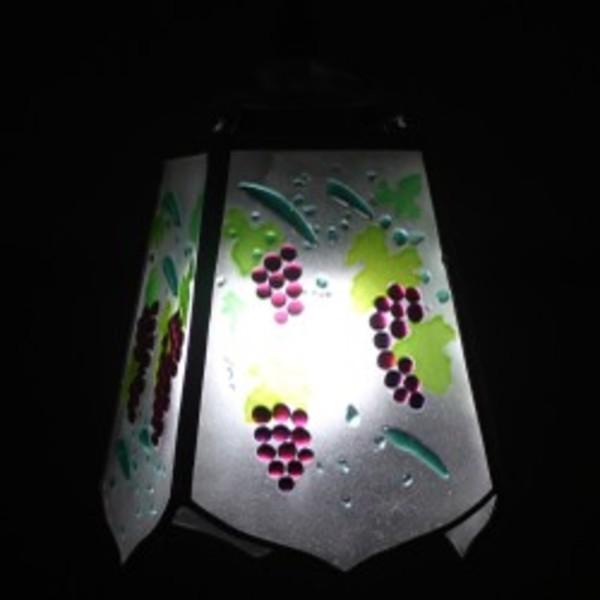 【照明】ステンドグラス、ペンダントライト,葡萄のサムネイル