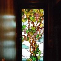 2Fドア葡萄のステンドグラスのサムネイル