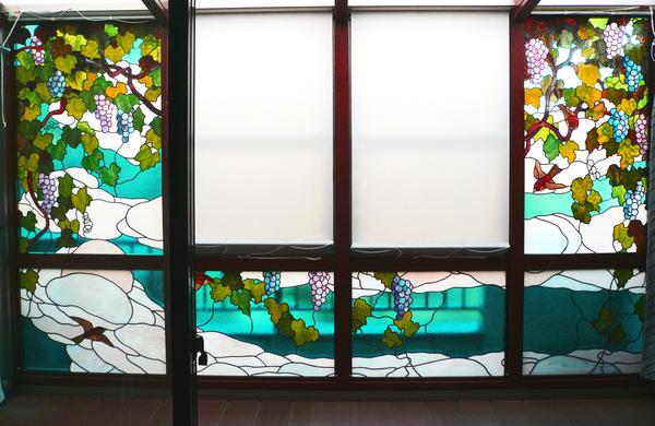 ステンドグラス オーダーメイド サンルーム のサムネイル