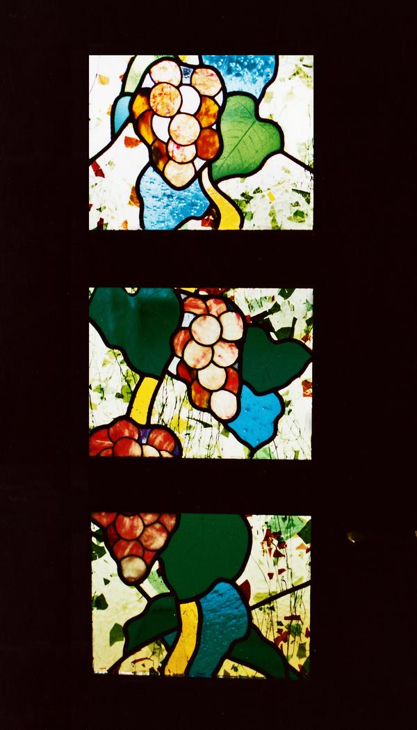 ステンドグラス オーダーメイド 新築 リフォーム 室内ドア、葡萄 のサムネイル