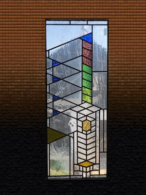 フランク、ロイド、ライト ステンドグラス オーダーメイド 新築