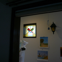 フィックス小窓 ステンドグラス オーダーメイド 新築のサムネイル