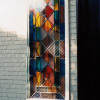 ステンドグラス オーダーメイド 新築 リフォーム やさしい幾何学模様のサムネイル