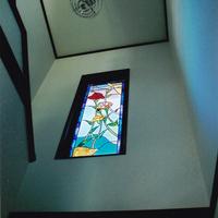 ステンドグラス パネル オーダーメイド 新築 リフォーム ヤマユリのサムネイル
