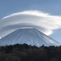 富士山のステンドグラスを作りたい♪