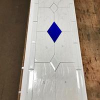 ステンドグラス 住宅展示用パネルを作る