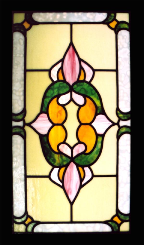 ステンドグラス オーダーメイド 新築 リフォーム 幾何学模様のサムネイル