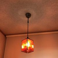 ステンドグラス、オーダーメイド ランプ