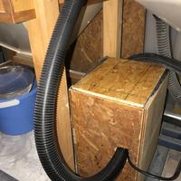 ステンドグラス 注文製作 オーダーメイド 集塵機ボックス