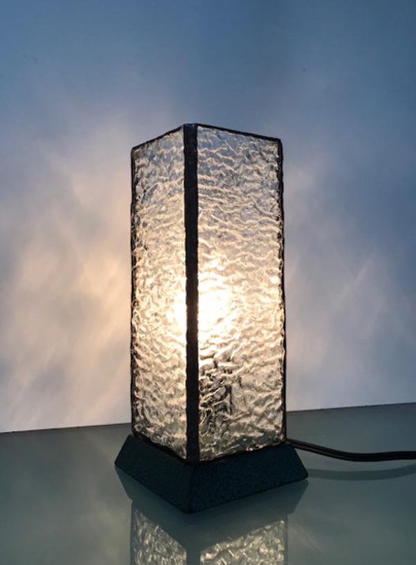 ステンドグラス 教室 リップル行燈