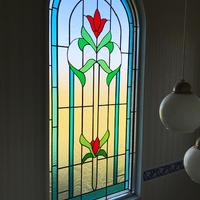 大網白里町の大きなステンドグラスのサムネイル