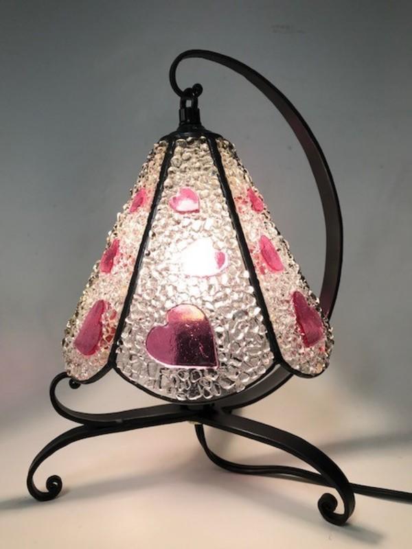 ハートのランプ