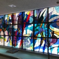 千葉県内某大学図書館ステンドグラスの修復のサムネイル