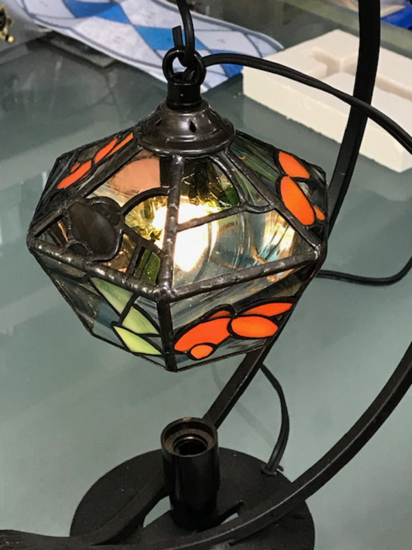 金魚のランプ
