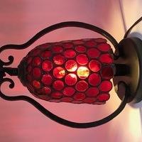 生徒さんの赤いランプ