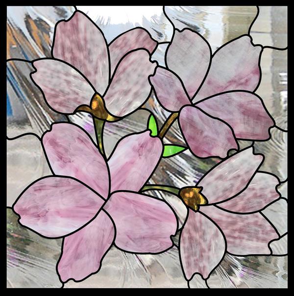 桜のパネル