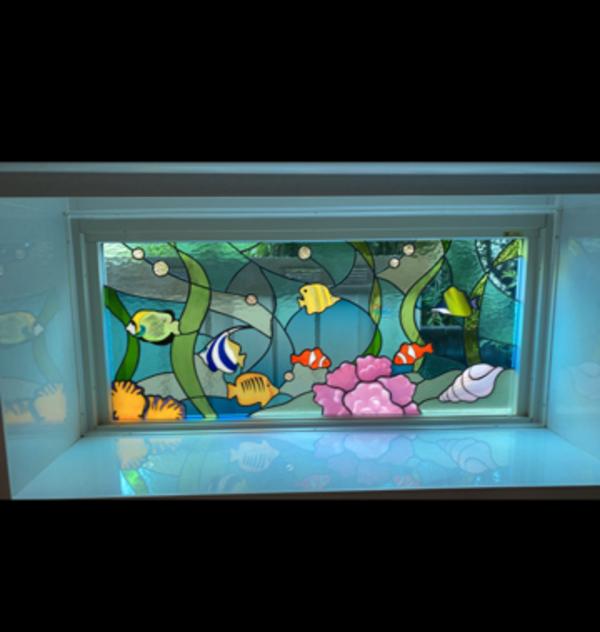 熱帯魚のパネル